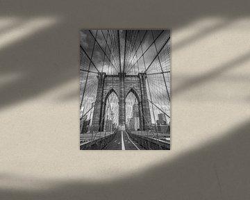 New York, Brooklyn-Brücke von C. Wold
