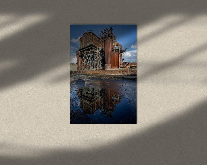Beispiel: Fabrik spiegelung von Albert Mendelewski