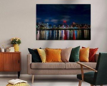 Skyline van Rotterdam van Samantha Rorijs