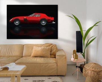 Ferrari 250 GTO Zijaanzicht