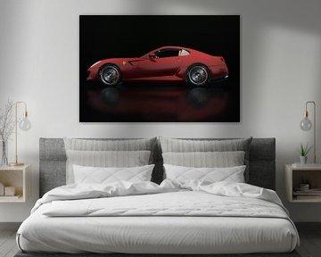 Ferrari 599 GTB Fiorano Zijaanzicht