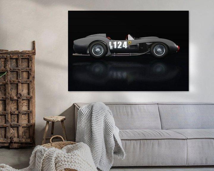 Sfeerimpressie: Ferrari F250 Testarossa Zijaanzicht van Jan Keteleer