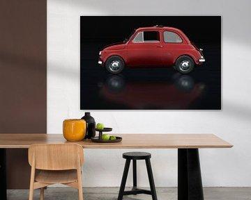 Fiat Abarth 595 1968 Zijaanzicht