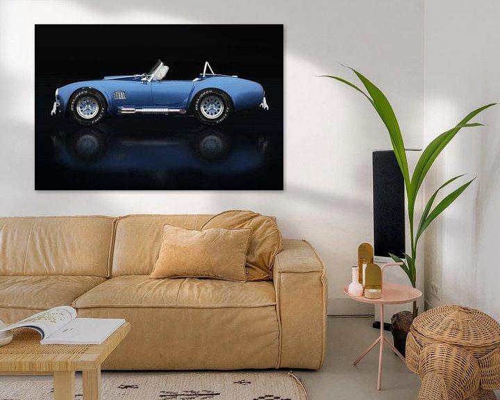 Sfeerimpressie: Ford AC Cobra 427 Shelby Zijaanzicht van Jan Keteleer