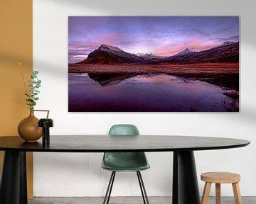 IJslandse bergen