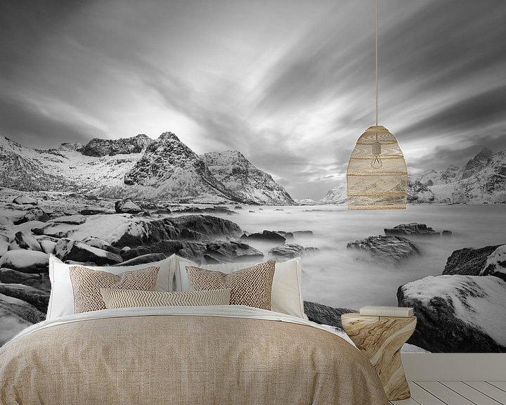 Sfeerimpressie behang: Winter Kust van Ralf Lehmann