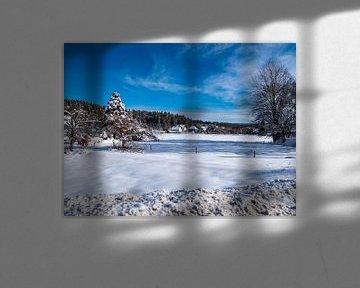 winterliche Vogtland in Sachsen Deutschland von Animaflora PicsStock