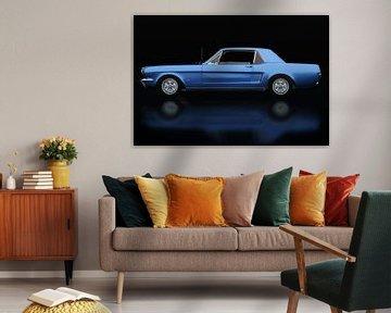 Ford Mustang GT Seitenansicht von Jan Keteleer