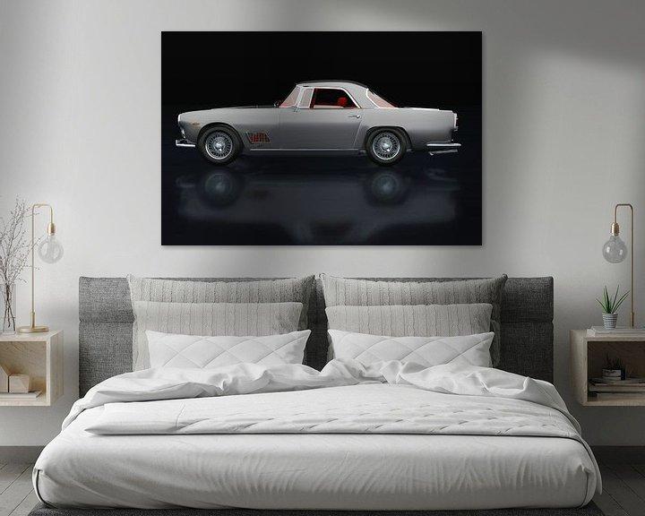 Sfeerimpressie: Maserati 3500 GT Zijaanzicht van Jan Keteleer