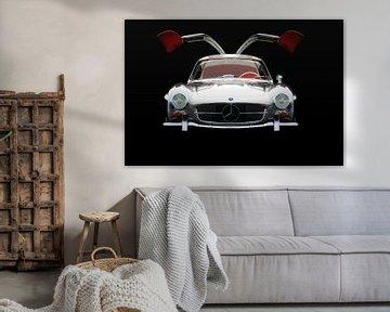 Mercedes 300 SL Gullwings Vooraanzicht