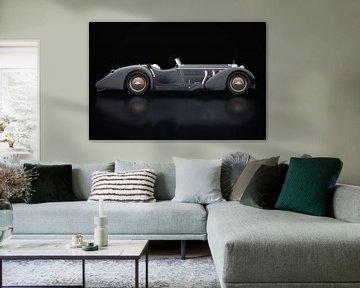 Mercedes-Benz SSK-710 Zijaanzicht