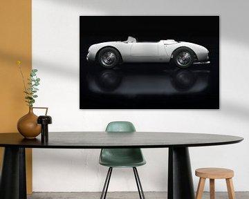 Porsche 550-A Spyder Seitenansicht von Jan Keteleer