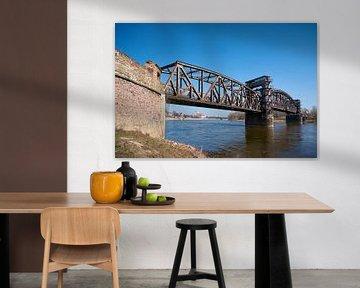 Hubbrücke in Magdeburg an der Elbe von Heiko Kueverling
