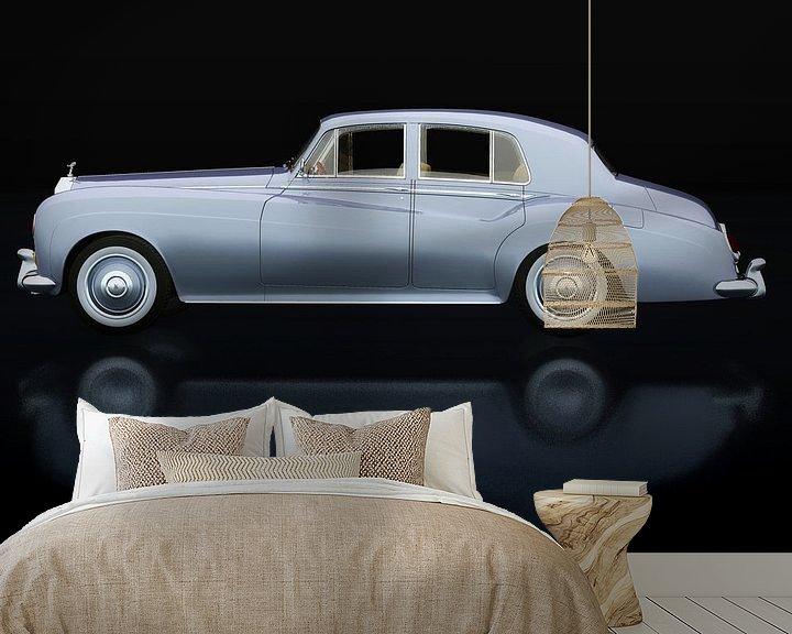 Beispiel fototapete: Rolls Royce Silver Cloud III Seitenansicht von Jan Keteleer