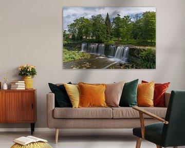 Keila-Wasserfall (Estland) von Marcel Kerdijk