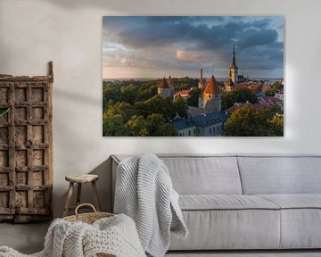 St. Olafs Kirche - Tallinn (Estland) von Marcel Kerdijk