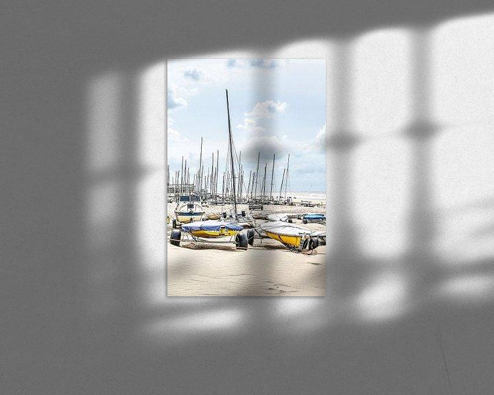 Sfeerimpressie: Zeilclub Noordwijk aan Zee Nederland van Hendrik-Jan Kornelis