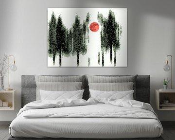 Maan van Wil van der Velde/ Digital Art