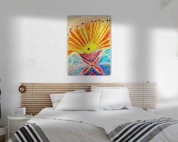 Shaman Dreaming van Parallel Dream Art