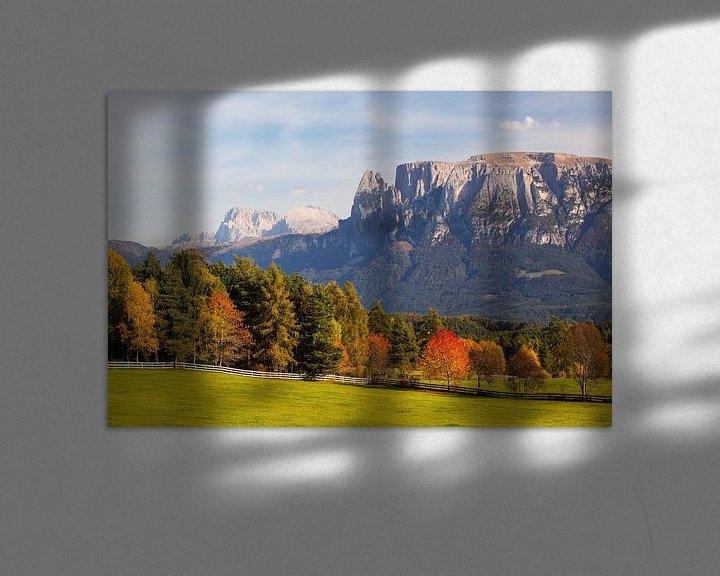 Beispiel: Herbst in Südtirol von Rudolf Brandstätter
