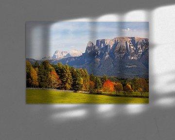 Herfst in Zuid-Tirol