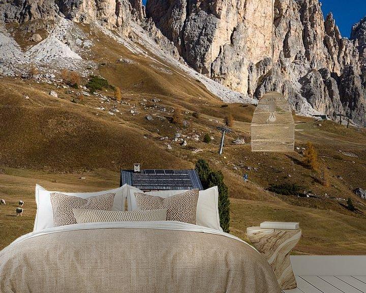 Beispiel fototapete: Herbst in den Dolomiten von Rudolf Brandstätter