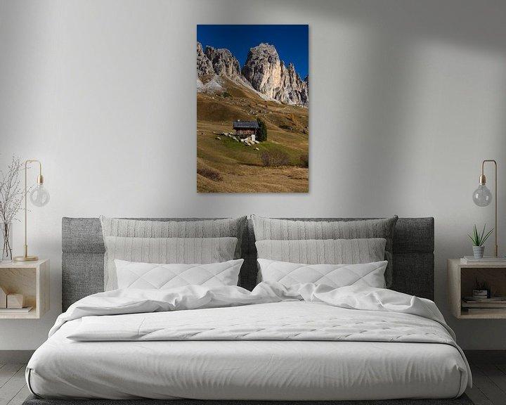 Beispiel: Herbst in den Dolomiten von Rudolf Brandstätter