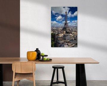 Eiffeltoren in Parijs van Jan Kranendonk