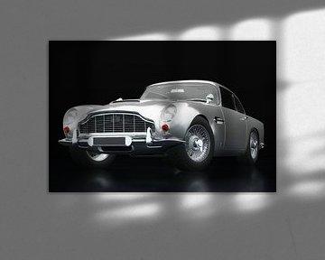 Aston Martin DB5 drie-kwart zicht