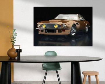 Aston Martin Vantage 1977 drie-kwart zicht