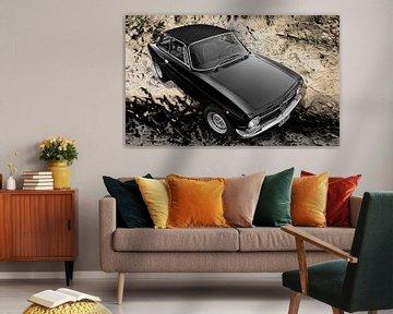 Alfa Romeo GT 1300 Junior in black von aRi F. Huber