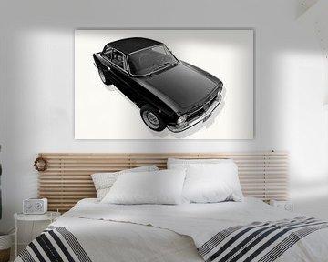 Alfa Romeo GT 1300 Junior en noir sur aRi F. Huber