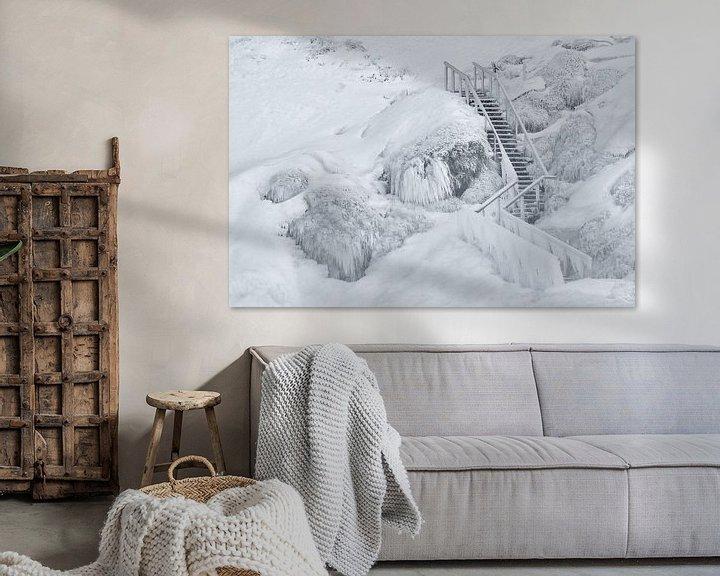 Sfeerimpressie: Frozen stairs van Loulou Beavers