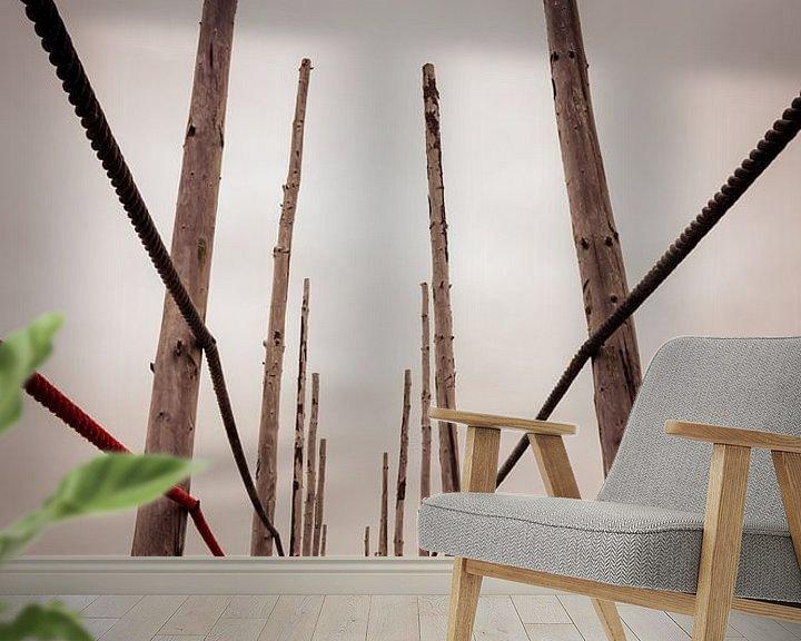 Sfeerimpressie behang: Texel 18 van Deshamer
