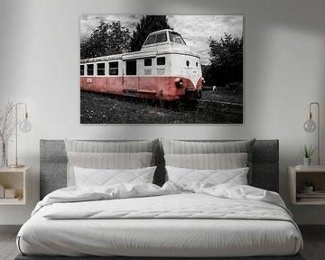 Alter Zug in wenig Farbe von Sharon de Groot