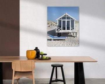 Maison de plage par une journée ensoleillée sur Jonai