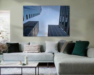 Wolkenkratzer mit klarem Himmel von Twentse Pracht