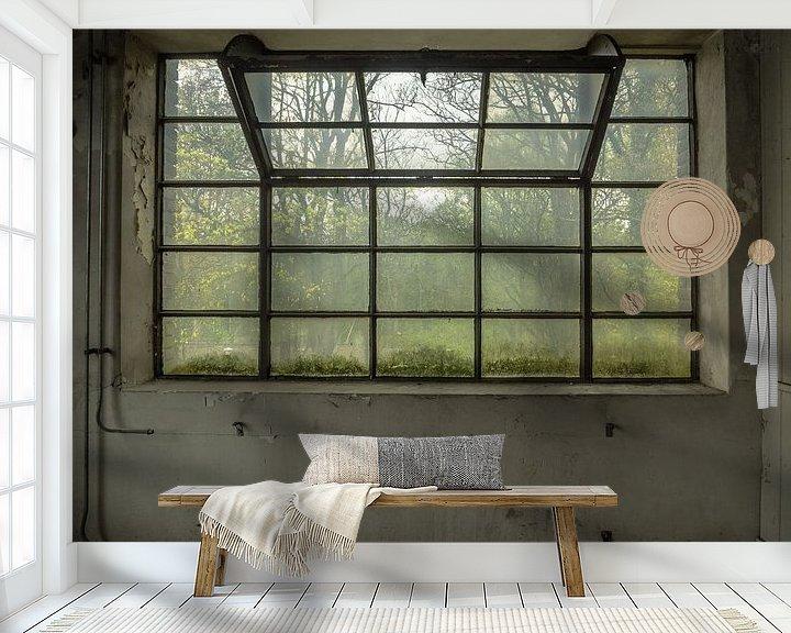 Beispiel fototapete: Großes Fenster von Martijn Tilroe