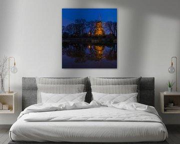 Blaue Mühle von peterheinspictures