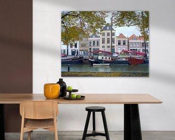 Stadtkanal Zwolle von Erwin Zeemering