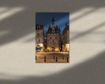 "Das alte Stadttor ""Porte Cailhau"" in Bordeaux von Manuuu S"