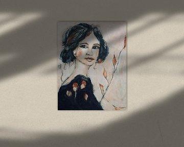 Belle femme von Mieke Daenen