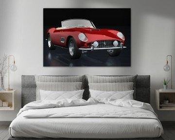 Ferrari 250 GT Spyder California 1960 driekwart zicht