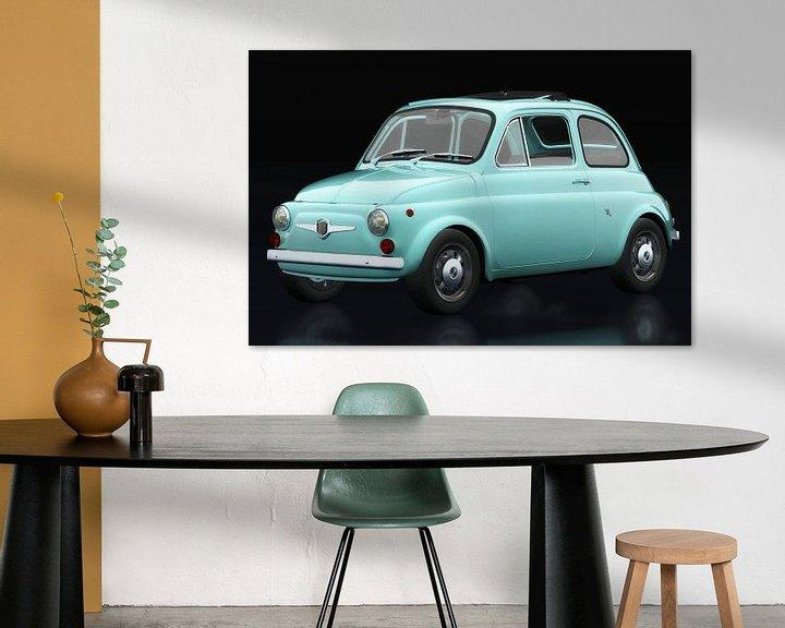 Impression: Fiat Abarth 595 1968 vue trois quarts sur Jan Keteleer