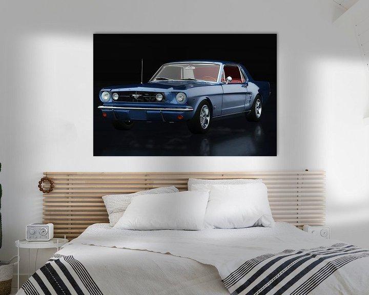 Sfeerimpressie: Ford Mustang GT drie-kwart uitzicht van Jan Keteleer