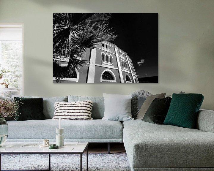 Sfeerimpressie: Klassieke Spaanse architectuur (zwart-wit) van Rob Blok
