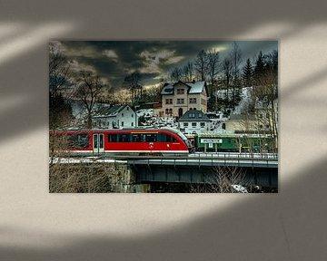 Eisenbahn im Erzgebirge von Johnny Flash