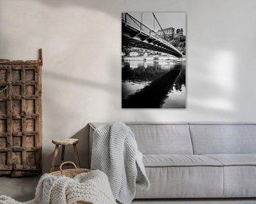 Brücke über der Donau von Alexander Dorn