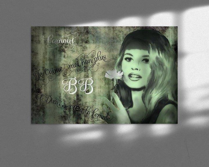 Beispiel: Brigitte Bardot von Christine Nöhmeier
