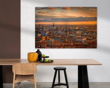Goldenes Madrid von Markus Stauffer